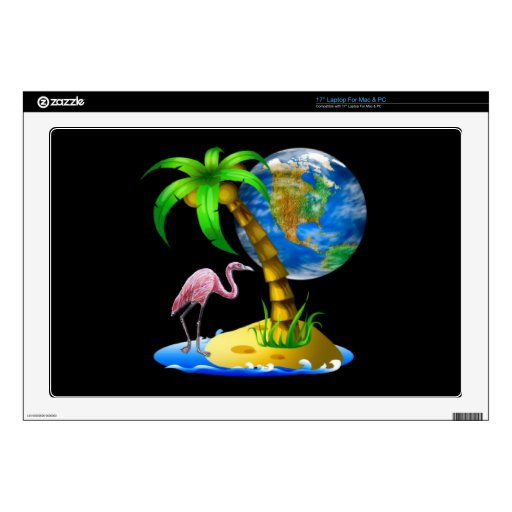 Flamingo Earth Zazzle Skin Decals For Laptops