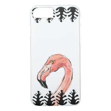Flamingo face iPhone 8/7 case