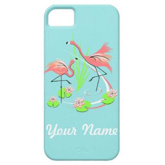 Flamingo Fandango Duo Name iPhone 5 case