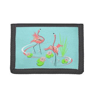 Flamingo Fandango Duo wallet nylon