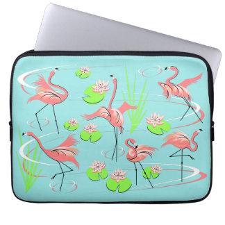 Flamingo Fandango laptop sleeve
