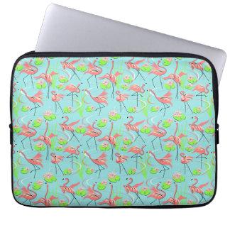 Flamingo Fandango Multi laptop sleeve