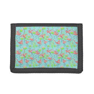 Flamingo Fandango Multi wallet nylon