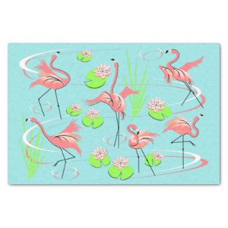Flamingo Fandango tissue paper