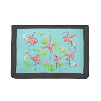 Flamingo Fandango wallet nylon
