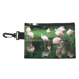 Flamingo Flamboyance Accessories Bag