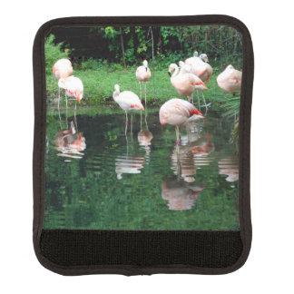Flamingo Flamboyance Luggage Handle Wrap