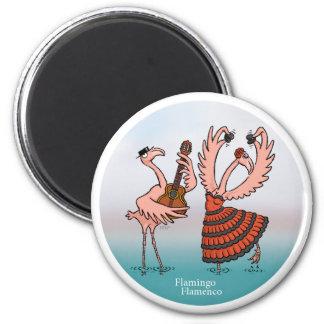 Flamingo Flamenco Magnet