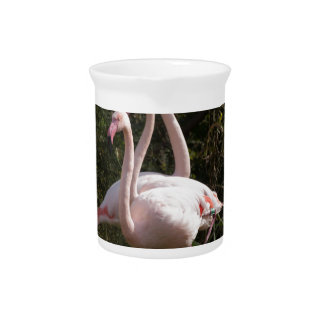 Flamingo Flock Beverage Pitcher