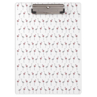 Flamingo Frenzy Clipboard