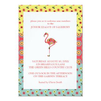 Flamingo Garden Party Invitations