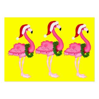 Flamingo Gift Enclosure Card / Tag
