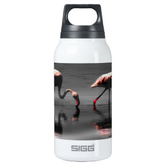 Flamingo Glow 10 Oz Insulated SIGG Thermos Water Bottle