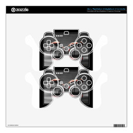 Flamingo Glow Decal For PS3 Controller