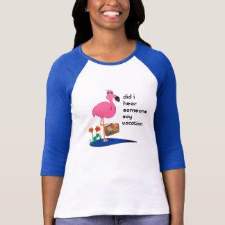 Flamingo goes on Vacation Shirt