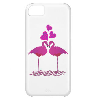 Flamingo_Heart iPhone 5C Cover