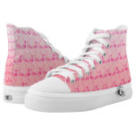 Flamingo High-Top Sneakers