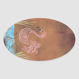 Flamingo Hoodoo Apothecary Jar Labels