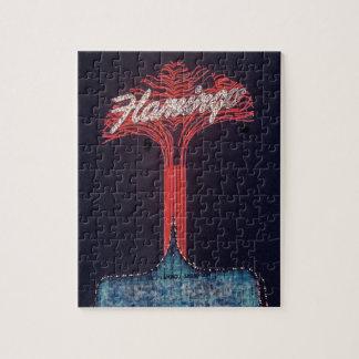 Flamingo Hotel Las Vegas Jigsaw Puzzle