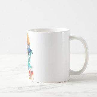 Flamingo in the Sun Coffee Mug