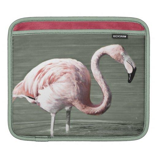 Flamingo iPad Sleeve