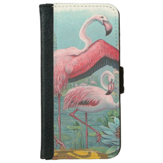 Flamingo iPhone 6/6s Wallet Case