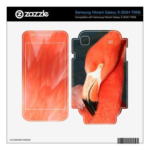 Flamingo iSamsung Vibrant Galaxy S (SGH-T959) Skin Samsung Vibrant Decals