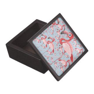 Flamingo Jewelry Box