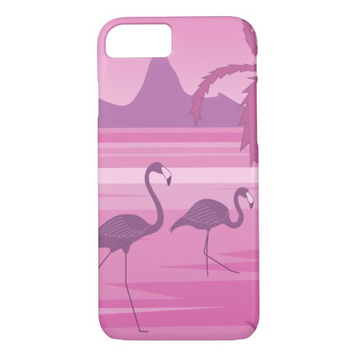 Flamingo lake iPhone 8/7 case