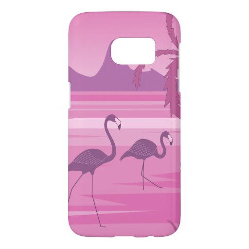 Flamingo lake samsung galaxy s7 case