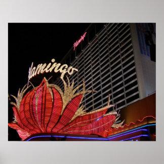 Flamingo Las Vegas Poster
