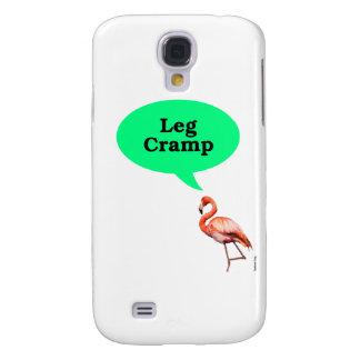 Flamingo Leg Cramp Samsung Galaxy S4 Covers