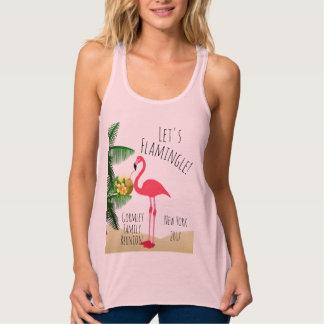 Flamingo Let's Flamingle Family Reunion Tank