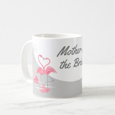 Bride Themed Flamingo Love Large Moon Mother of the Bride mug
