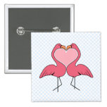 Flamingo Love Pins