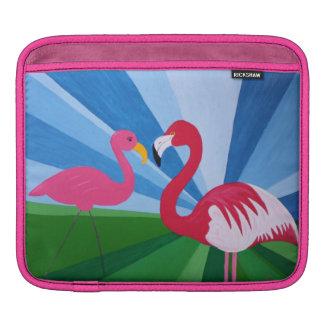 Flamingo Love Sleeves For iPads