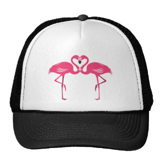 Flamingo Love Trucker Hat
