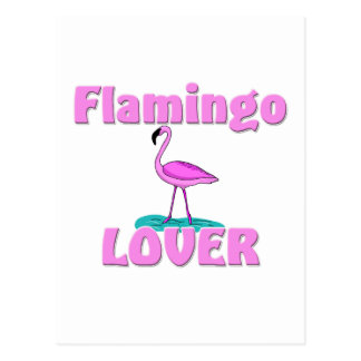 Flamingo Lover Postcard