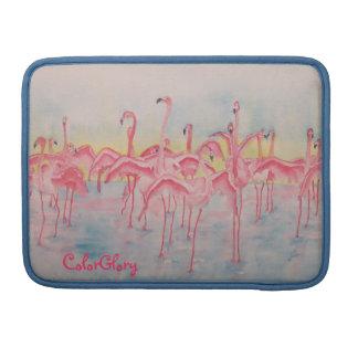 Flamingo MacBook Pro Flap Sleeve