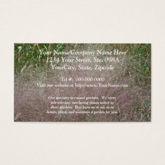 Flamingo Marsh Grass at the Shore Business Card