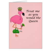 Flamingo Mother's Day Card