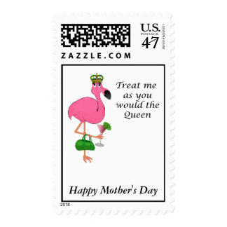 Flamingo Mother's Day Postage