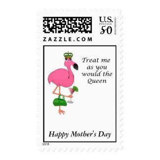 Flamingo Mother's Day Postage