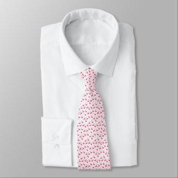 Beach Themed Flamingo Neck Tie