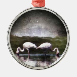 Flamingo Nights Ornament