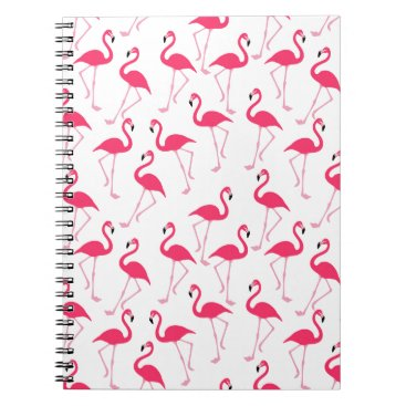 Beach Themed Flamingo Notebook