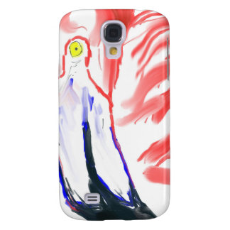 Flamingo Oil Painting Pink Flamingoe drawing Samsung Galaxy S4 Case