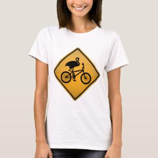Flamingo on Bicycle T-Shirt