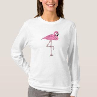 Flamingo On One Leg T-Shirt