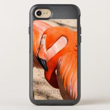 Beach Themed Flamingo otter box iphone 7 case